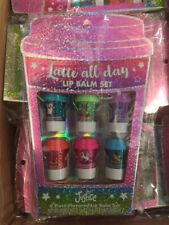 Latte All Day Lip Balm Set - Justice - 6 piece flavored lip balm children / kids