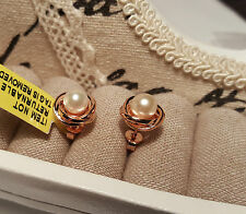Butterfly Sterling Silver Akoya Fine Pearl Earrings