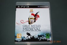 History Super Battles Medieval Ps3 Playstation 3