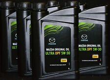 5x1 Litres Mazda Original Oil Ultra Filte à particules diesel 5w-30 d'huile 5w-30 (Dexelia Filte à particules diesel)