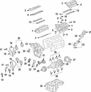 OEM NEW 2015-2020 Ford Fusion Edge Right Cylinder Head Gasket FT4Z-6051-A