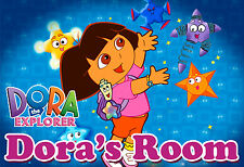027 DORA THE EXPLORER COLORFUL PERSONALIZED CUSTOMIZED DOOR ROOM POSTER