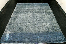 New listing 8X11 1920s Incredible Hand Knotted 90+Years Antique Wool Tabrizz Distressed Rug