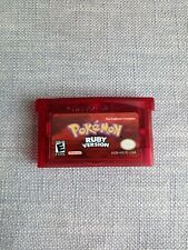 Pokemon Ruby Gameboy Advance GBA *Cart Only*