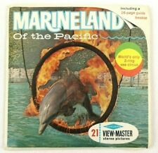 Marineland of the Pacific 21 View Master Stereo 3D Pictures Vintage A188 Packet