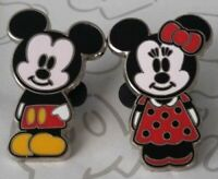 Mickey & Minnie Mouse and Friends Cute Characters Booster Disney Pin Set