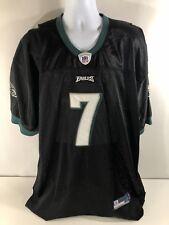 Reebok On Field Michael Vick Philadelphia Eagles Black Football Jersey Sewn - 56