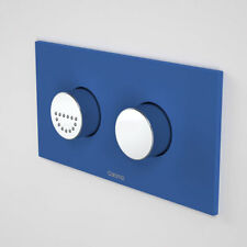 Caroma INVISI SERIES II® ROUND DUAL FLUSH PLATE & RAISED CARE BUTTONS 237011TH