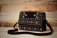 sale Topshop RRP £42 Womens Leather Shoulder CrossBody Ladies Handbag Sling Bag