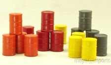 Cargo-To-Go: - 16 O Scale Industrial Oil Barrels