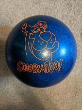 9 lb Scooby Doo Brunswick Bowling Ball Blue Sparkles Great Condition