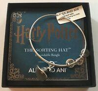 Alex Ani Harry Potter Sorting Hat Charm Bangle Silver Finish New