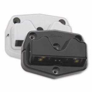 Black Speaker 416 Interior LED Compartment Light With Step 12-24v Truck Lamp