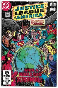 Justice League of America 210 Signed Mike DeCarlo Autographed DC Batman Superman