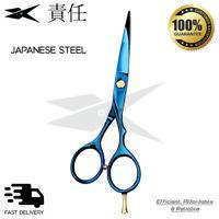 "Professional 5.5"" Hair Cutting Scissors Barber Salon Sharp RAZOR Blades Shears"