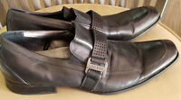Guess Mens Black Shoes Size 12 Slip On Dress Status Movevel Status Office Wear