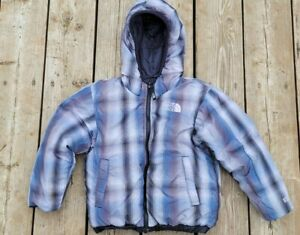 the North Face BOYS 550 Down Winter Jacket Reversible XXS size 5