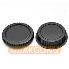 Lens Rear Cap + Camera body Cover cap for CANON EOS EF EF-S