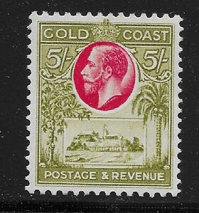 Gold Coast Scott #107, Single 1928 FVF MH
