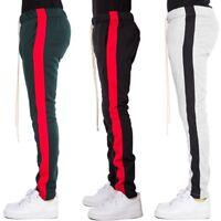 EPTM Epitome Men's Techno Side Zipper Long Drawstring Fleece Track Pants