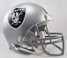 OAKLAND RAIDERS NFL Riddell Pro Line AUTHENTIC VSR-4 Football Helmet