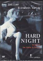 Dvd HARD NIGHT con Ben Stiller Elizabeth Hurley nuovo 1998