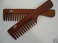 Natural Wood Spa Comb Dark Wood Professional Hairdressing Comb  BUY 1 GET 1 FREE