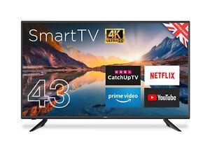 "CELLO 43"" inch LED SMART TV 4K ULTRA HD  FREEVIEW HD WiFi 3 HDMI USB"