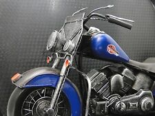 1940s Harley Davidson Motorcycle Model Easy Rod Custom Rider Touring Bike 1:6