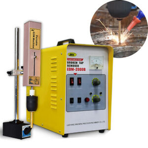Portable EDM Spark Erosion Machine for Broken Taps, Drills, Bolts, Studs Removal