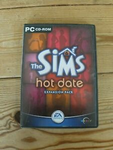 The Sims hot date Expansion Pack PC CD-ROM
