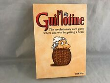 Guillotine Card Game Cards In Shrink Unopened!