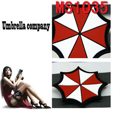1PC Patch Resident Evil Umberlla Logo PVC Rubber Magic Stick Patches Hot Sale
