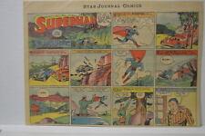 SUPERMAN SUNDAY COMIC STRIP #3 Nov 19, 1939 2/3 FULL Philadelphia Inquirer RARE