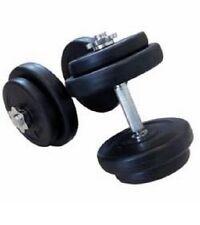 20 kg Kurzhantel Set 30 mm mit Kunststoff Kurzhantel Hanteln Hantel Gewichte