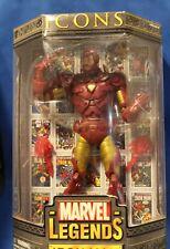 """Marvel legends ICON"""" IRON MAN"""" Toybiz MIB  (2006) see actual item photos..HTF"""