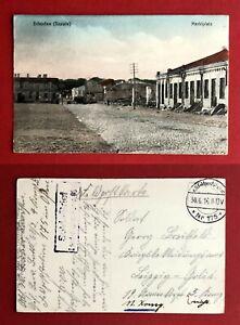 AK SCHAULEN Szawle in Litauen 1916 Marktplatz    ( 81324