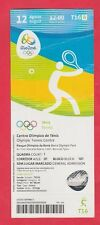Orig.Ticket  Olympische Spiele RIO DE JANEIRO 2016 / TENNIS Herren Doppel Finale