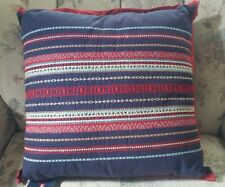 """CHAPS  Home = EASTPORT - 18x18"""" Embroidered Decorative Throw Pillow MSRP - $60"""