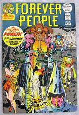 Forever People 8 1972 25¢ Early Darkseid & Sandman KEY Jack Kirby Nice BIG PICS!
