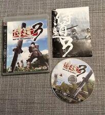 way of the samurai 3 PS3 (Japan import)