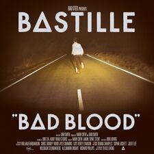 BASTILLE ( NEW SEALED CD ) BAD BLOOD ( INCLUDES TRACKS: POMPEII / FLAWS )