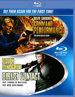 Command Performance / Direct Contact Blu-ray Disc 2-Disc Set Dolph Lundgren NEW
