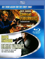 COMMAND PERFORMANCE / DIRECT CONTACT BLU-RAY DISC DOLPH LUNDREN - BRAND NEW