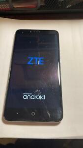 "UNLOCKED ZTE ZMAX PRO Z981 32GB 6"" Blue B-STOCK 4G smartphone FREE SHIPPING"
