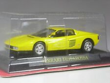 TOP: Altaya Ferrari Testarossa gelb 1984 in 1:43 in OVP