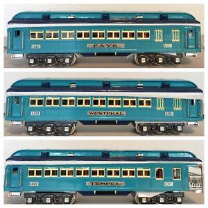 Lionel Classics 6-13408 :: Blue Comet Passenger Car Set
