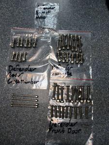 Defender 90 110 3 Door Stainless Steel Bolt Set Kit up to 2007