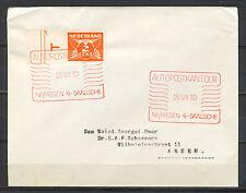 AUTOPOSTKANTOOR NIJMEGEN 4-DAAGSCHE 26.VII.39 (Rood)        CL514