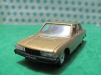 Vintage - PEUGEOT 604  -  1/43  Solido n°40  - Made in France 1976 - MIB